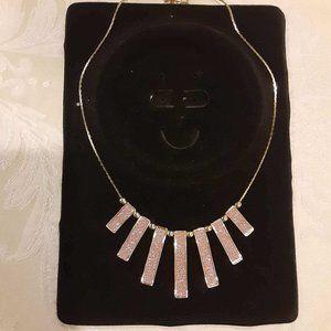 3/&$15 BEAUTIFUL light pink sparkle necklace